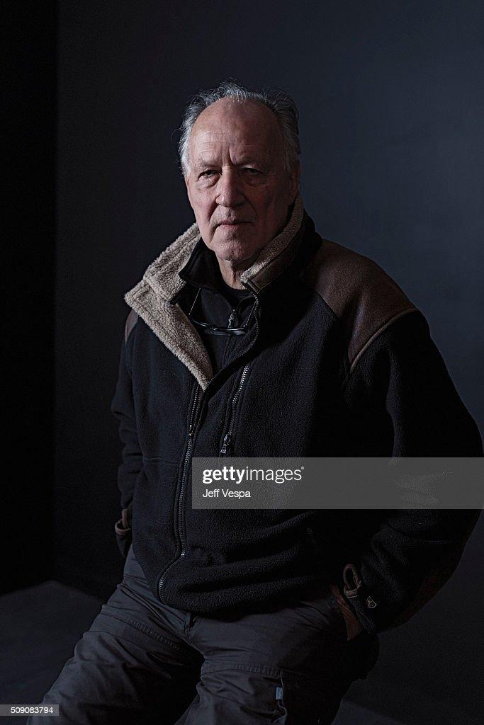 Werner Herzog poses for a portrait at the 2016 Sundance Film Festival on January 24, 2016 in Park City, Utah.