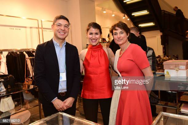 Werner Orellana Leah Popowich and Sonia Nofziger attend the Barneys New York Foundation and Simon Doonan Celebrate UNICEF USA on May 11 2017 in...