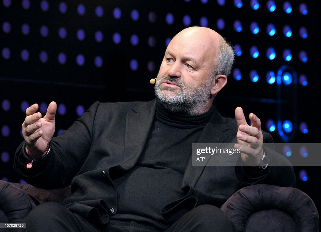 US Werner Vogels, chief technology officer and vice President of Amazon.com, online retailer, talks while attending a session LeWeb'12 in Saint-Denis, near Paris on December 5, 2012.