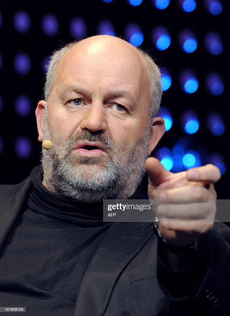 US Werner Vogels, chief technology officer and vice President of Amazon.com, online retailer, talks while attending a session LeWeb'12 in Saint-Denis, near Paris on December 5, 2012. AFP PHOTO ERIC PIERMONT