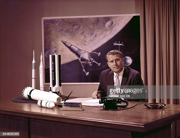 Wernher von Braun*Aerospace engineer and space architect one of the 'Fathers of Rocket Science' Germany / USADirector of NASA's Marshall Space Flight...