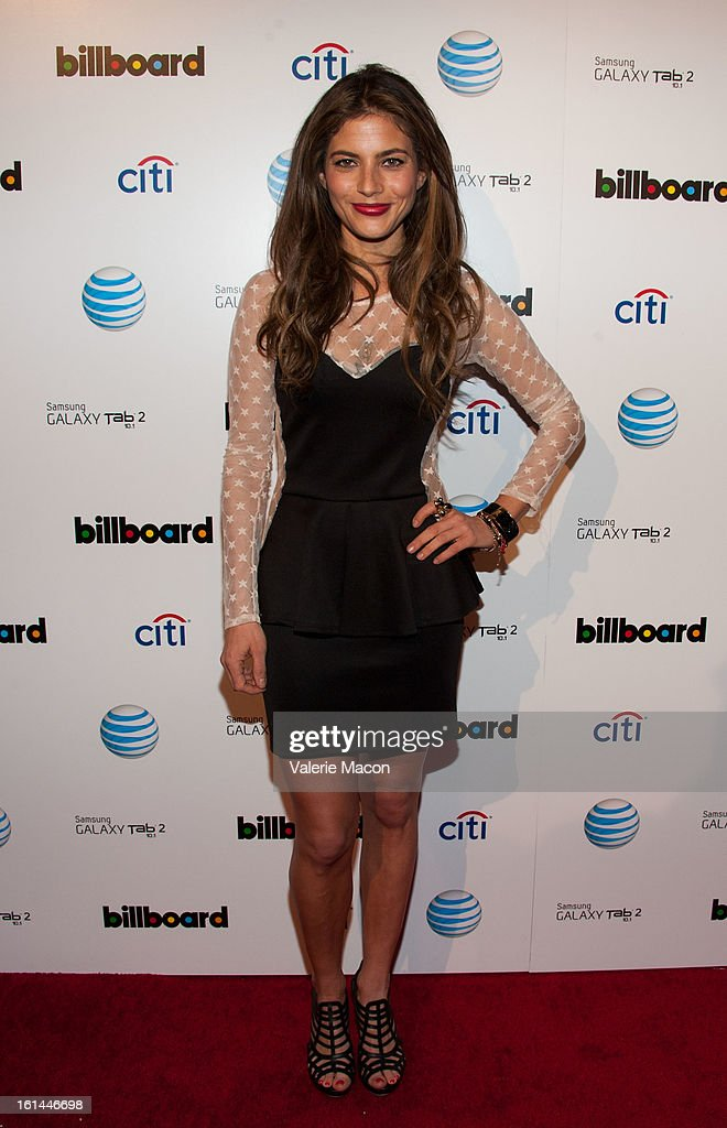 Weronica Rosati attends The Billboard GRAMMY After Party at The London Hotel on February 10, 2013 in West Hollywood, California.