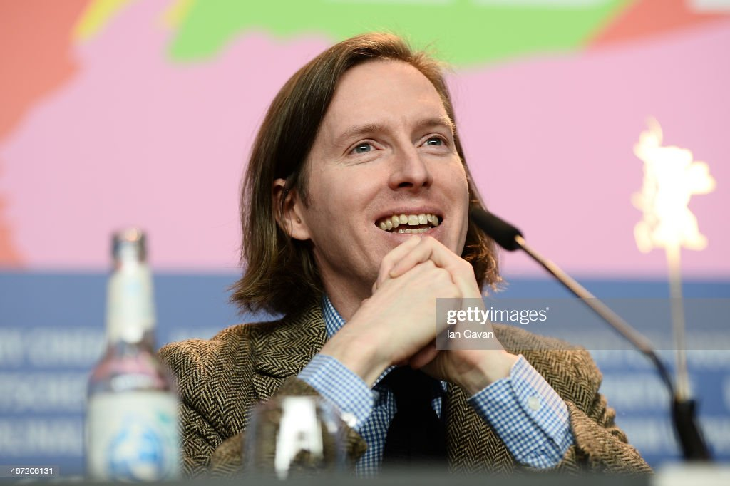 <a gi-track='captionPersonalityLinkClicked' href=/galleries/search?phrase=Wes+Anderson&family=editorial&specificpeople=217728 ng-click='$event.stopPropagation()'>Wes Anderson</a> attends 'The Grand Budapest Hotel' press conference during 64th Berlinale International Film Festival at Grand Hyatt Hotel on February 6, 2014 in Berlin, Germany.