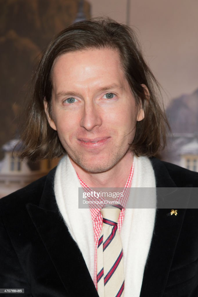 <a gi-track='captionPersonalityLinkClicked' href=/galleries/search?phrase=Wes+Anderson&family=editorial&specificpeople=217728 ng-click='$event.stopPropagation()'>Wes Anderson</a> attends the 'The Grand Budapest Hotel' Paris Premiere at Cinema Gaumont Opera on February 20, 2014 in Paris, France.