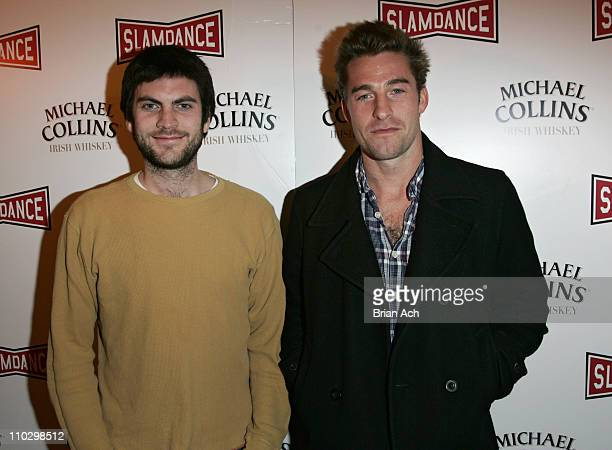 Wes Bentley and Scott Speedman during 2007 Park City 'Slamdance' Opening Night at Treasure Mountain Inn in Park City Utah United States