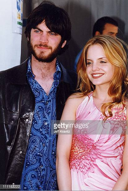 Wes Bentley Mena Suvari during 2000 Independent Spirit Awards in Santa Monica California United States