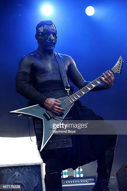 Wes Borland from Limp Bizkit performs during the 'Louder Than Life' Music Festival in Champions Park on October 04 2014 in Louisville Kentucky