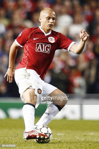 Wes BROWN Manchester United / Milan Ac 1/2 finale Champions League