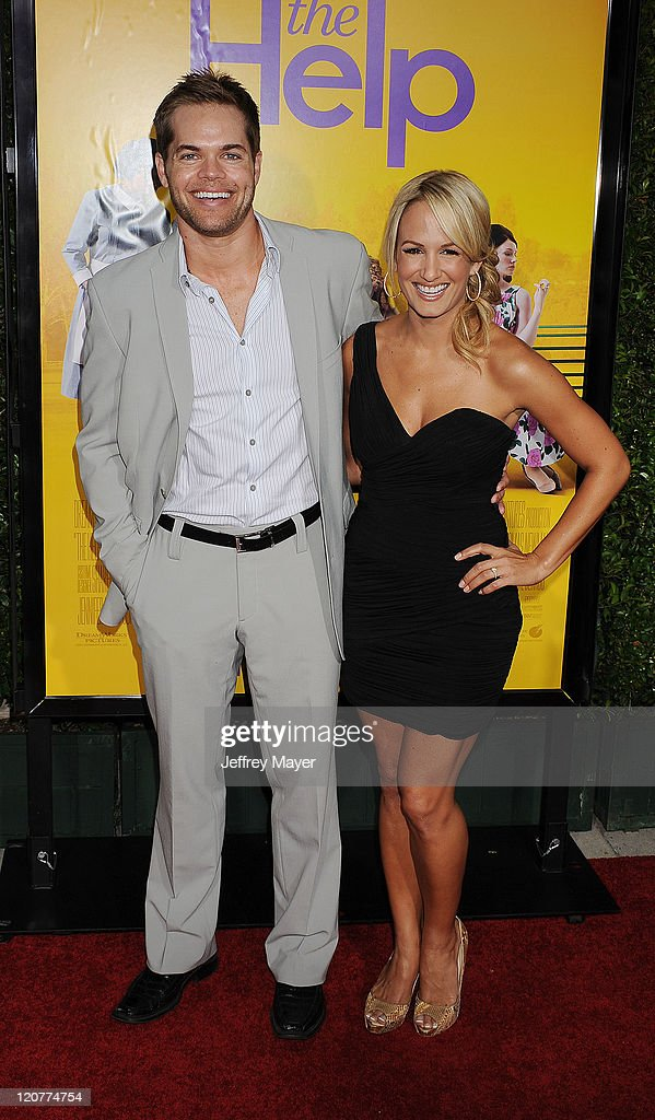 Wes Chatham and Jenn Brown attend 'The Help' Los Angeles Premiere at AMPAS Samuel Goldwyn Theater on August 9, 2011 in Beverly Hills, California.