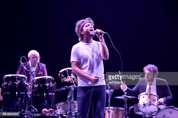 Wes Miles of Ra Ra Riot performs during Soul Bugs Superjam The DapKings play The Beatles at Piestewa Stage during day 2 of the 2017 Lost Lake...