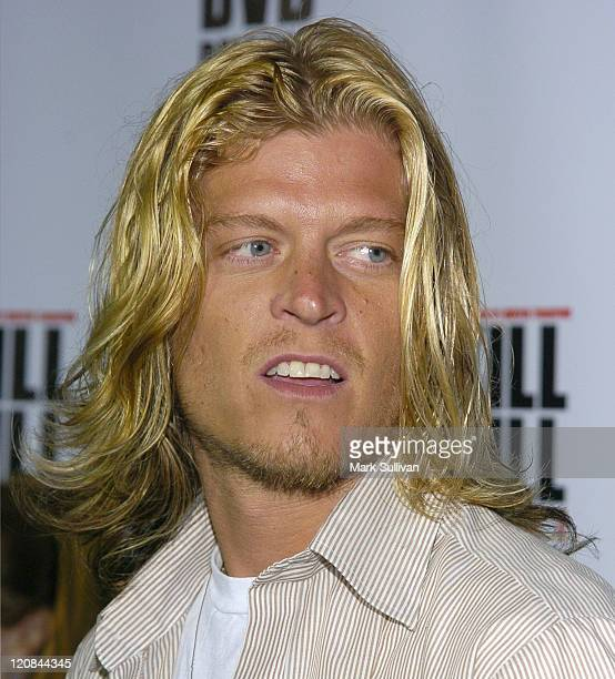 Wes Scantlin during 'Kill Bill Vol 1' DVD Release Party at The Playboy Mansion in Holmby Hills California United States
