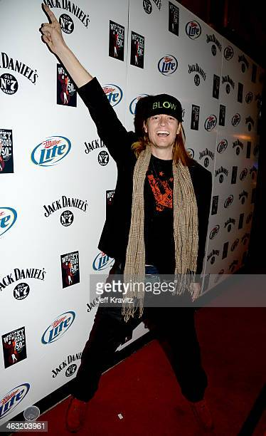 Wes Scantline at Whisky a Go Go on January 16 2014 in West Hollywood California