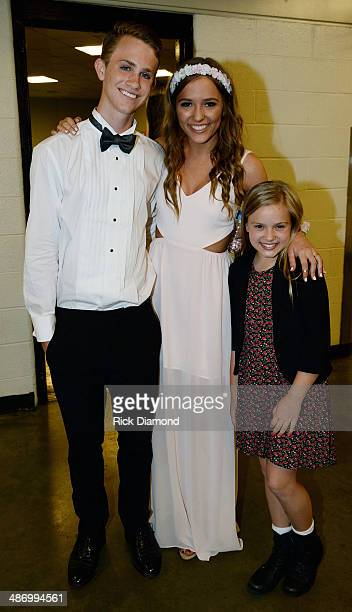 Wes Theriau ABC's Nashville cast member Lennon Stella arrive together after attending Brentwood High School's Prom and attend with Nashville cast...