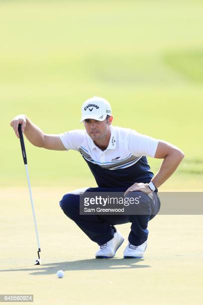 Wesley Bryan of the United States during the third round of The Honda Classic at PGA National Resort and Spa on February 25 2017 in Palm Beach...