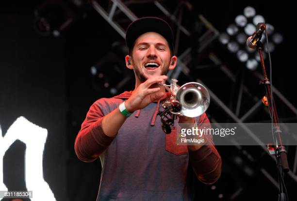 Wesley Finley of Rebelution performs on the Sutro Stage during the 2017 Outside Lands Music And Arts Festival at Golden Gate Park on August 13 2017...