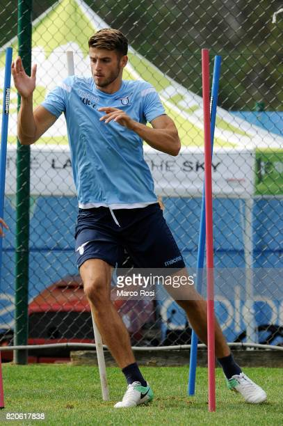 Wesley Hoedt during the SS Lazio PreSeason Training Camp on July 22 2017 in Pieve di Cadore Italy