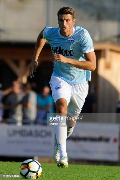 Wesley Hoedt of SS Lazio during the preseason friendly match between SS Lazio and Kufstein on August 1 2017 in Kufstein Austria