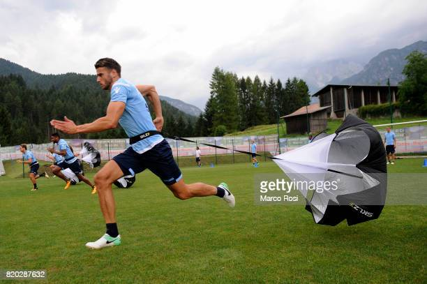 Wesley Hoedt of SS Lazio during the SS Lazio PreSeason Training Camp on July 21 2017 in Pieve di Cadore Italy