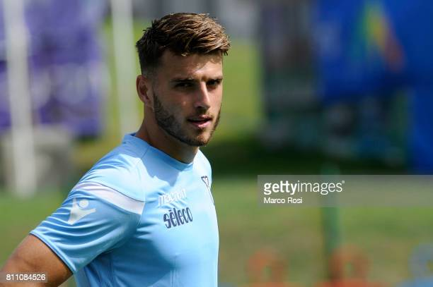 Wesley Hoedt of SS Lazio during the SS Lazio Training Camp Day 1 on July 9 2017 in Rome Italy