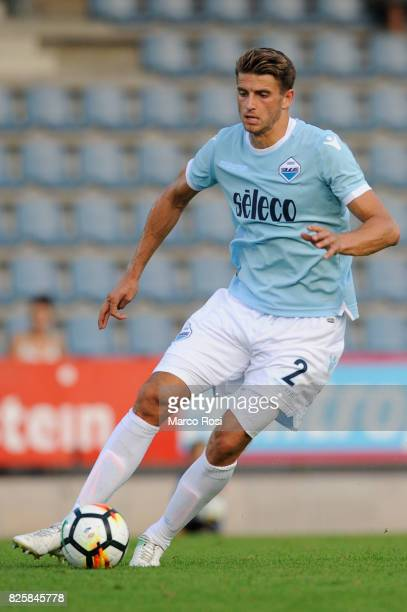 Wesley Hoedt of SS Lazio in action during the preseason friendly match between SS Lazio and Kufstein on August 1 2017 in Salzburg Austria