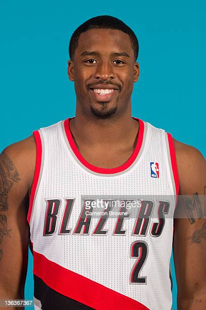 Wesley Matthews of the Portland Trail Blazers poses for a portrait during Media Day on December 16 2011 at the Rose Garden Arena in Portland Oregon...
