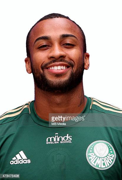 Wesley of Sociedade Esportiva Palmeiras poses during a portrait session on August 14 2014 in Sao PauloBrazil