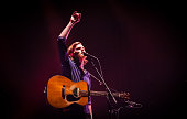 Wesley Schultz of The Lumineers performs at O2 Academy Brixton on April 24 2016 in London England