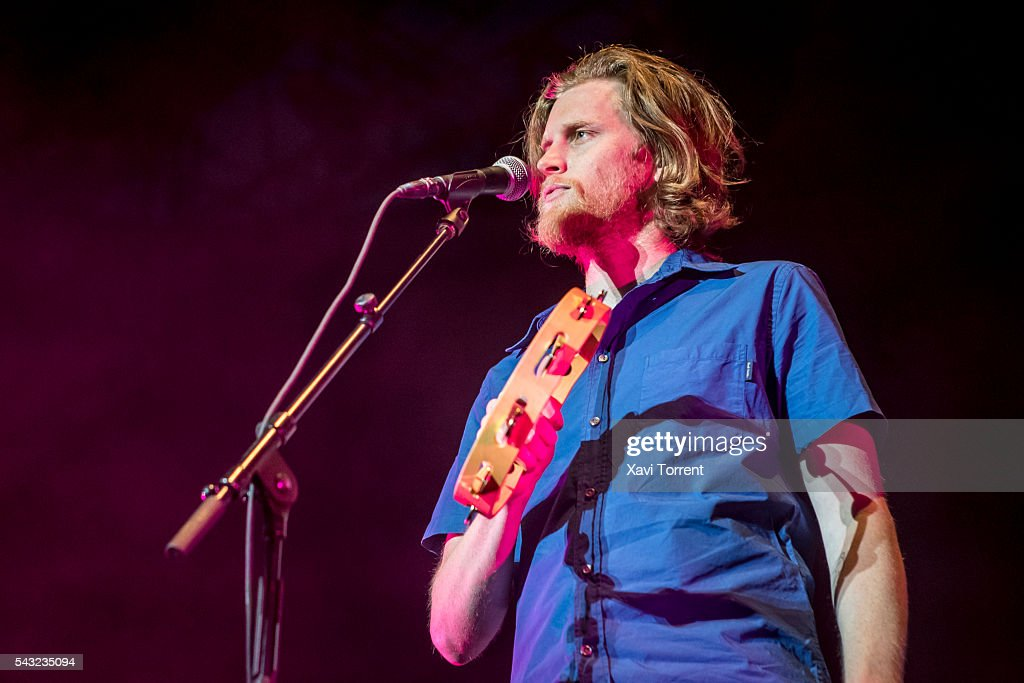 <a gi-track='captionPersonalityLinkClicked' href=/galleries/search?phrase=Wesley+Schultz&family=editorial&specificpeople=9160718 ng-click='$event.stopPropagation()'>Wesley Schultz</a> of The Lumineers performs in concert during Festival Jardins de Pedralbes on June 26, 2016 in Barcelona, Spain.