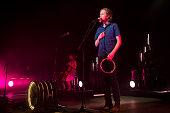 Wesley Schultz of The Lumineers performs on stage during Festival Jardins de Pedralbes at Jardins de Pedralbes on June 26 2016 in Barcelona Spain