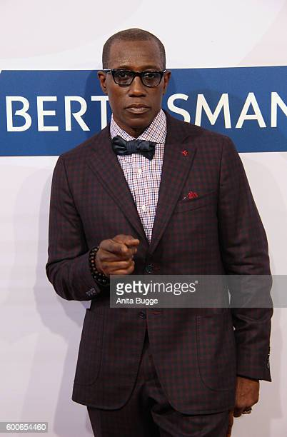 Wesley Snipes attends the Bertelsmann Summer Party at Bertelsmann Repraesentanz on September 8 2016 in Berlin Germany