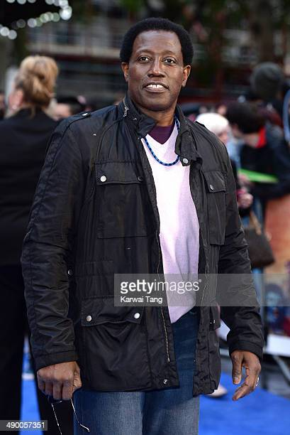 Wesley Snipes attends the UK Premiere of 'XMen Days of Future Past' held at the Odeon Leicester Square on May 12 2014 in London England