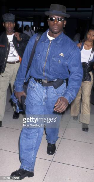 Wesley Snipes during Wesley Snipes Sighted at Los Angeles International Airport June 4 1996 at Los Angeles International Airport in Los Angeles...