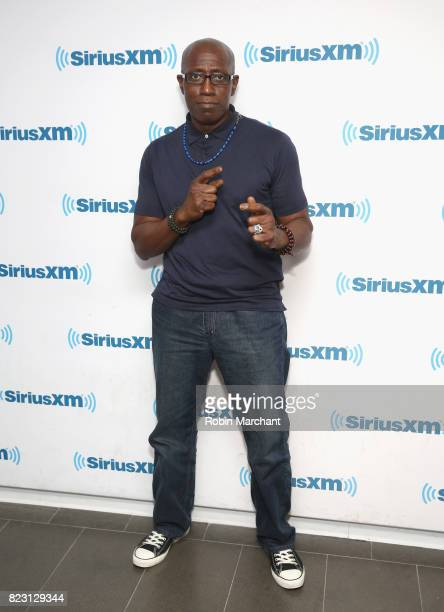 Wesley Snipes visits at SiriusXM Studios on July 26 2017 in New York City
