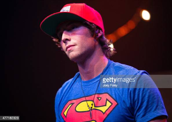 Wesley Stromberg of Emblem3 performs live onstage at Egyptian Room at Old National Centre on February 16 2014 in Indianapolis Indiana