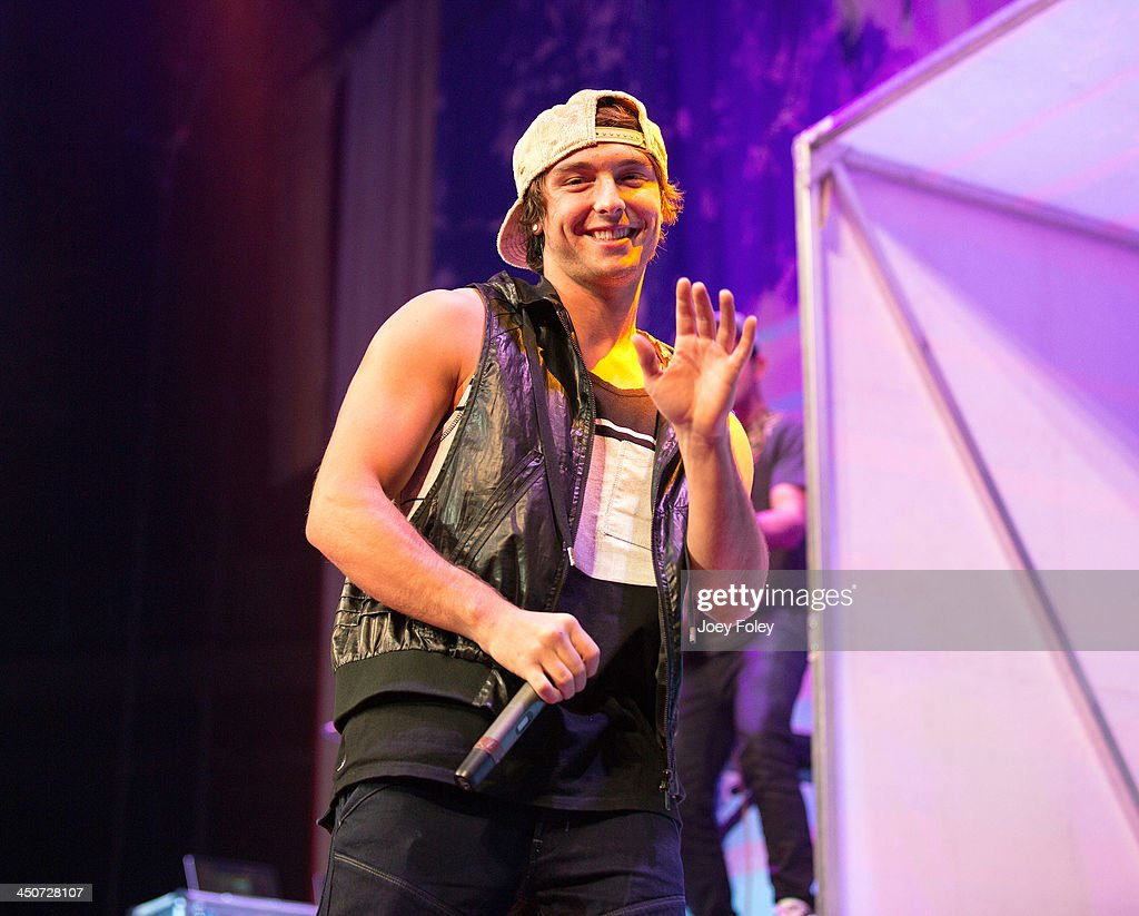 Wesley Stromberg of Emblem3 performs onstage at Bankers Life Fieldhouse on November 19, 2013 in Indianapolis, Indiana.