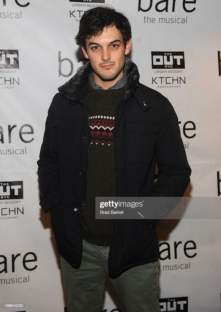 Wesley Taylor attends 'BARE The Musical' Opening Night at New World Stages on December 9, 2012 in New York City.