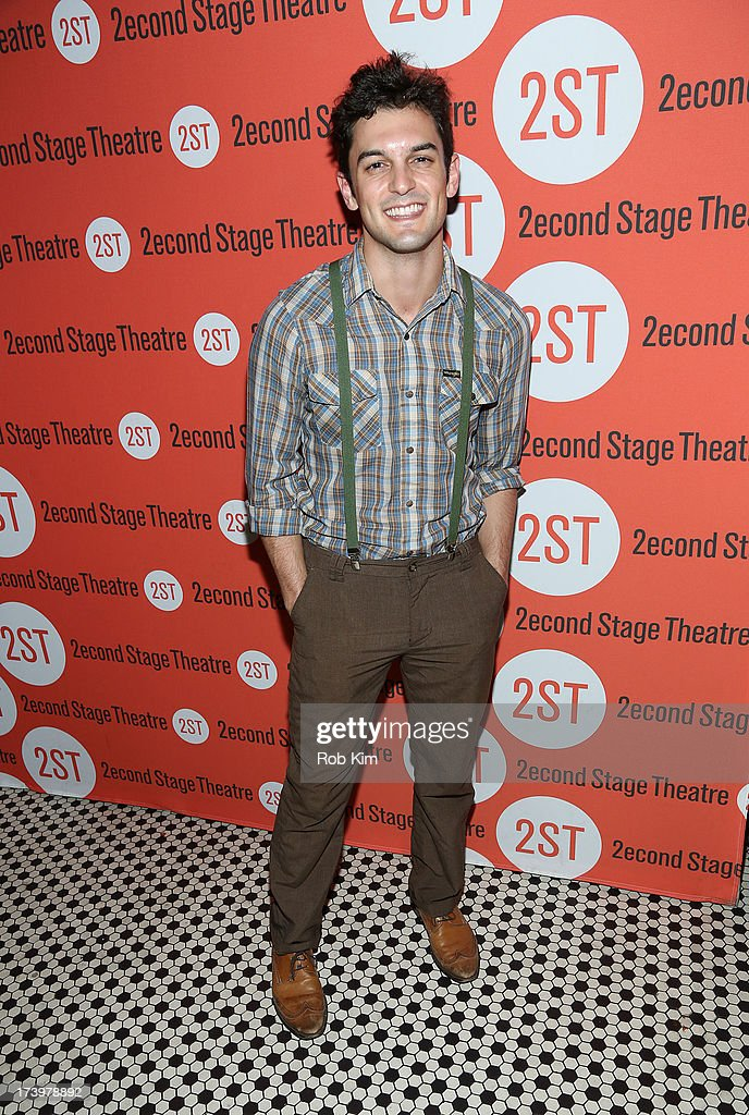 <a gi-track='captionPersonalityLinkClicked' href=/galleries/search?phrase=Wesley+Taylor&family=editorial&specificpeople=5800245 ng-click='$event.stopPropagation()'>Wesley Taylor</a> attends 'Nobody Loves You' Opening Night After Party at HB Burger on July 18, 2013 in New York City.