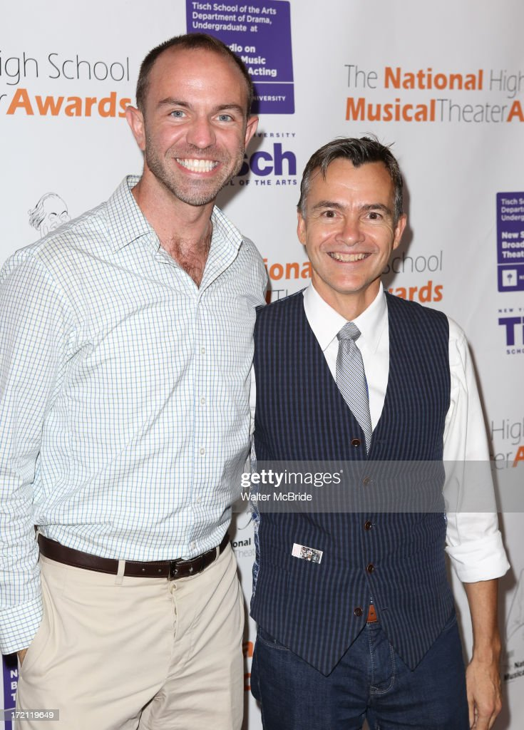Wesley Whatley and Bill Shermerhornattend the 5th Annual National High School Musical Theater Awards at Minskoff Theatre on July 1, 2013 in New York City.