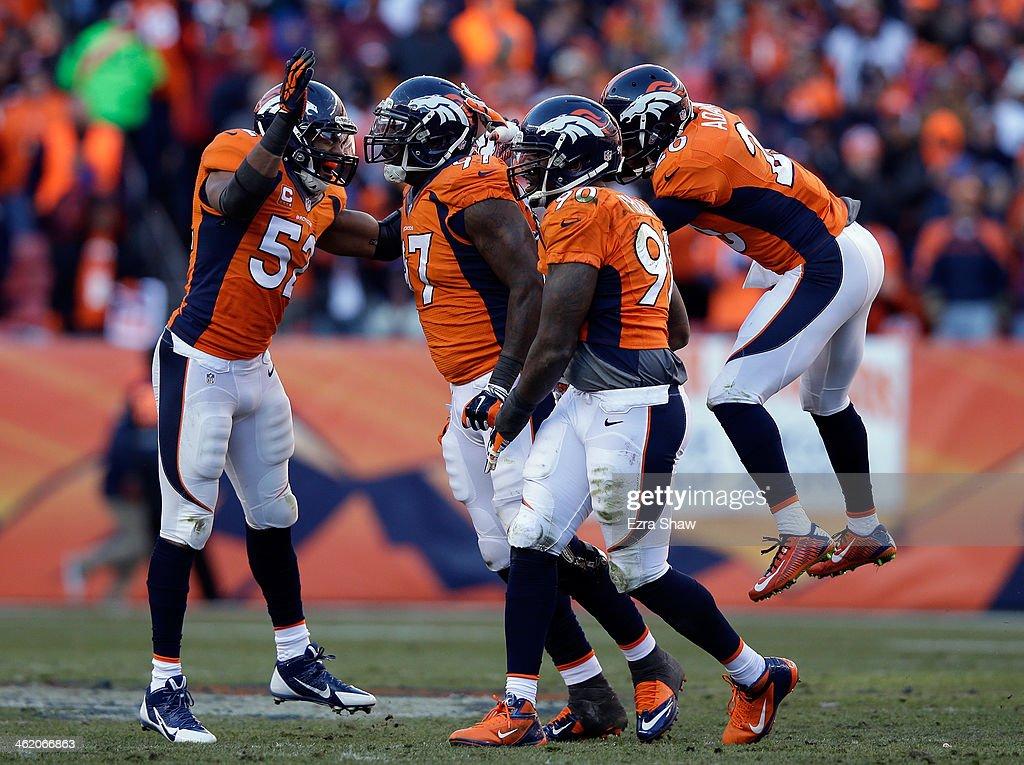 Divisional Playoffs - San Diego Chargers v Denver Broncos