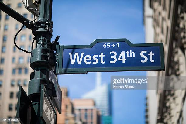 West 34th street