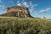 West and East Pawnee Butte on the Pawnee National Grassland in Northeastern Colorado.