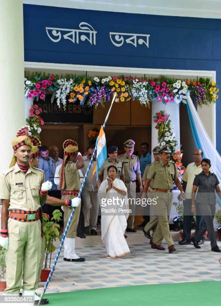 West Bengal Chief Minister Mamata Banerjee inaugurate the newly renovated West Bengal Police Head Quarter Bhawani Bhawan in Kolkata