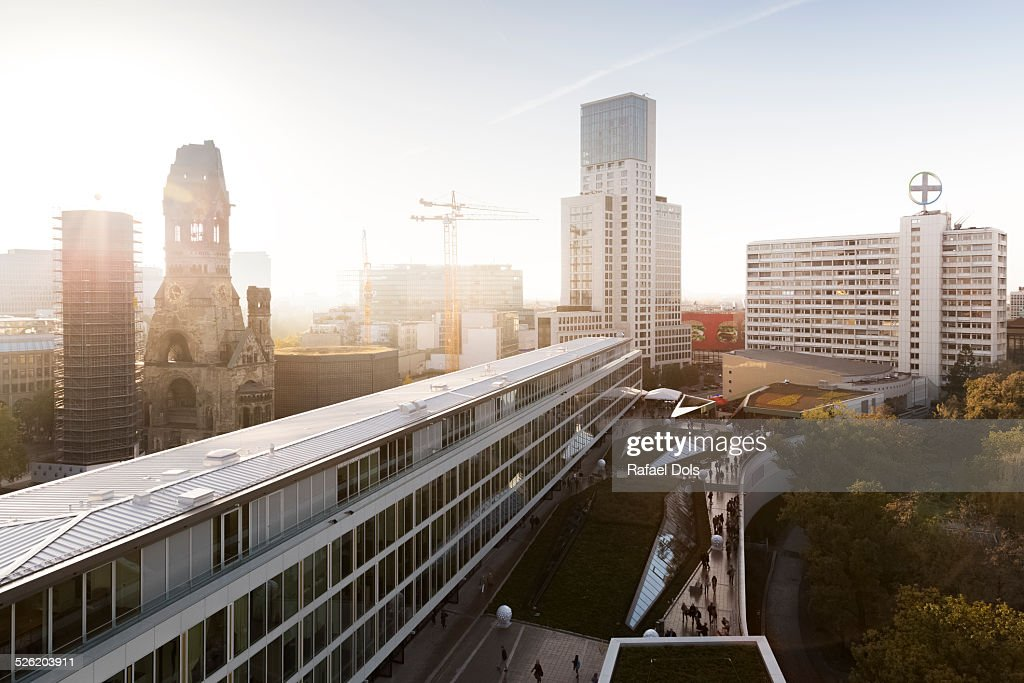 West Berlin cityscape