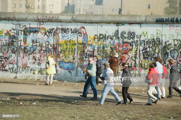 West Berlin Germany 10 days after relaxation of border crossing by GDR Government This allowed east german citizens to cross into west Berlin and...