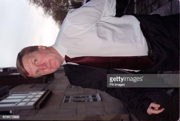 West Brom manager Ray Harford arrives at Lancaster Gate today where defender Shane Nicholson faces an FA hearing after failing a drugs test See PA...