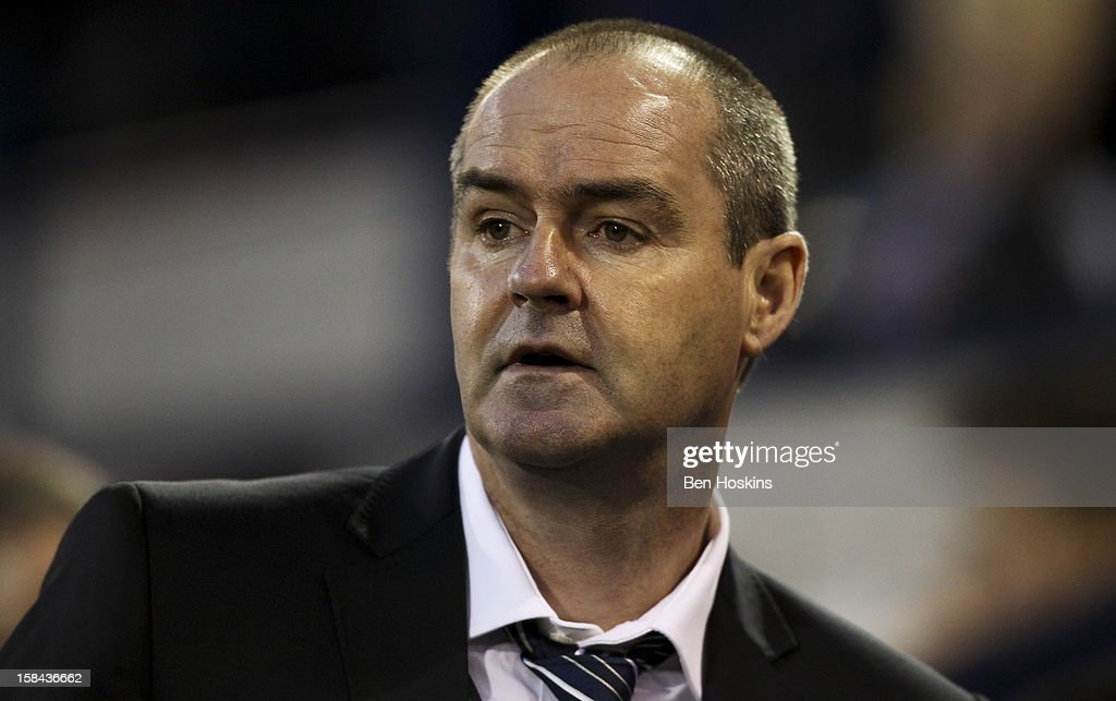 West Brom manager Steve Clarke looks on prior to the Barclays Premier League match between West Bromwich Albion and West Ham United at the Hawthorns on December 16, 2012 in West Bromwich, England.