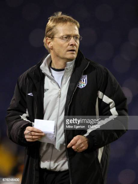 West Bromwich Albion Academy Coach Keith Downing