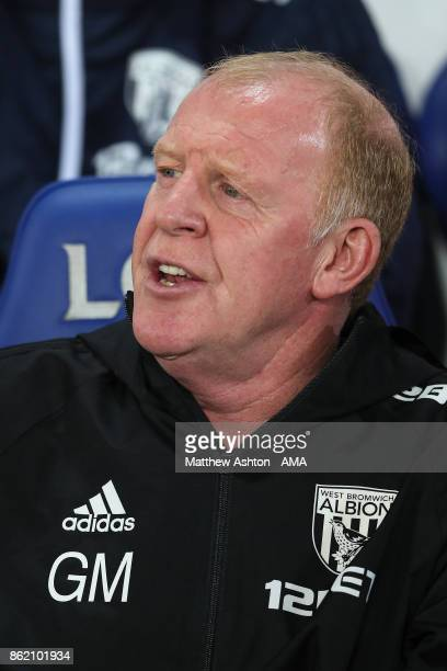 West Bromwich Albion Assistant Manager / Head Coach Gary Megson looks on during the Premier League match between Leicester City and West Bromwich...