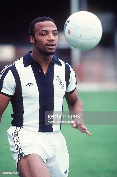 West Bromwich Albion FC photocall July 1978 Cyrille Regis