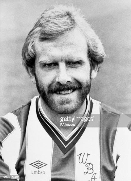 West Bromwich Albion player Tony Grealish poses for the camera at The Hawthorns football ground
